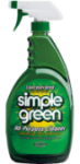 A bottle of Simple Green